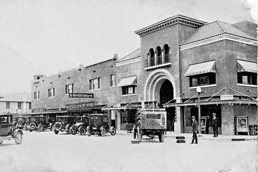 Downtown NPR. Late 1920's - Courtesy West Pasco Historical Society
