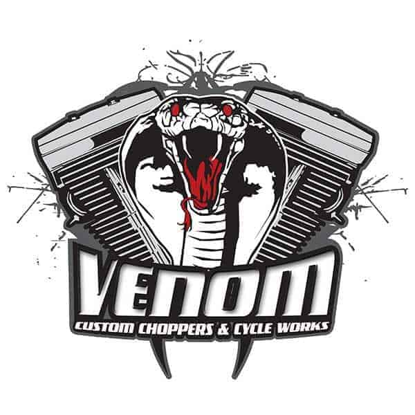 Venom Custom Choppers 2017 Bike Shows